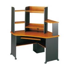 bureau ordinateur d angle station informatique d angle avec rehausse jazz goujon bureau