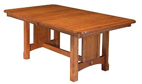 dining tables amish furniture wana cabinets shipshewana in west lake trestle west lake trestle table