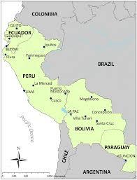 Lima Map Map Of Study Sites In Ecuador Peru Bolivia And Paraguay