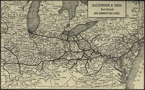 Baltimore City Map Baltimore Railroad History Rsus
