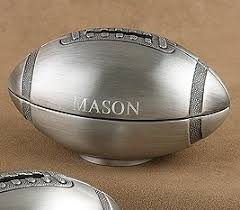 engraved football gifts affordable necessities and gift ideas for your ring bearer and
