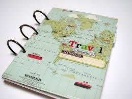 travel photo albums travel memories mini album journal scrapbook 30 00 via etsy