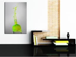 tableau decoration cuisine tableau deco cuisine bouteille fluo décoration murale hexoa