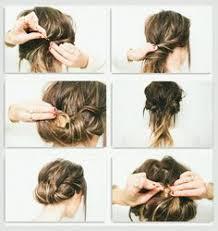 Hochsteckfrisurenen Mit Kurzen Haaren Zum Nachmachen by Hochsteckfrisuren Kurze Haare Anleitung Bildern Modische