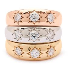 rings star images Lucky star rings set of three alexis kletjian jpg