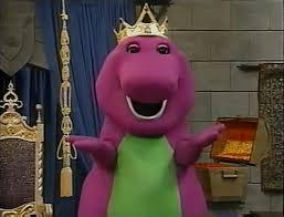 image king barney magical musical adventure jpg barney wiki