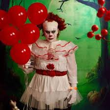 Handmade In Costume - it movie on this dress like pennywise and