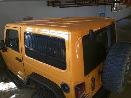 jeep wrangler 4 door orange socal oem dozer hard top from 2 door 2012 sahara jkowners com