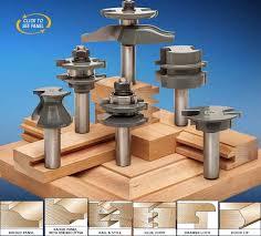 Fine Woodworking Router Bit Review by Mlcs 6 Piece Pro Cabinetmaker Router Bit Set