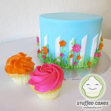stuffed cakes flower garden cake u0026 cupcakes