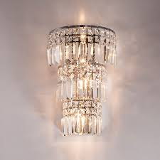 Industrial Wall Sconce Lighting Large Crystal Wall Lamp Living Room Modern Industrial Wall Sconce