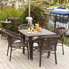 Amazon Com Venice Outdoor Wicker Pa - commercial outdoor dining furniture