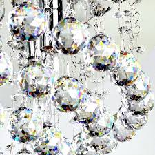 Chandelier With Crystal Balls Wrought Iron Chandelier With Crystal Balls Chandelier With Crystal