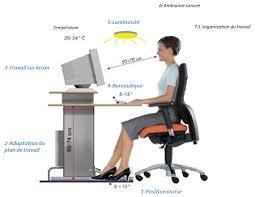 position assise bureau l ergonomie globale du poste de travail n est pas que l ergonomie