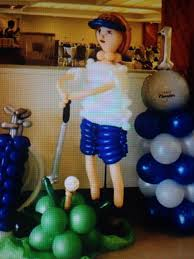 125 best sports theme party balloons images on pinterest