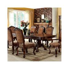 furniture of america cromwell dining set collection antique cherry