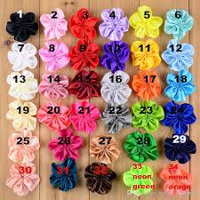 flowers for headbands 5cm ribbon baby hair flowers for headbands diy clothing flowers