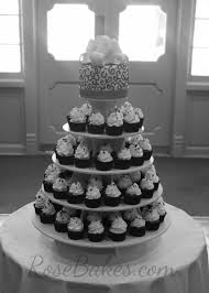 cupcake wedding cake behance
