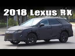 lexus 3 row suv 2018 lexus rx 3 rows suv prototype