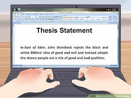 write a good thesis statement how to write a theme essay 11 steps with pictures wikihow