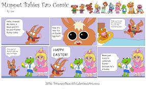 muppet babies easter comic princessbeautiful deviantart