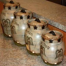 country kitchen canisters country kitchen canisters french country kitchen canister set