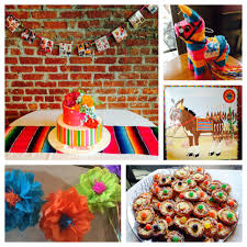 interior design fresh decorations for a mexican themed party