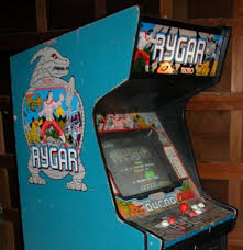 japanese arcade cabinet for sale rygar videogame by tecmo