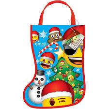 gardening emoji plastic emoji christmas stocking favor bag 13