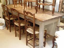 small farmhouse table and chairs 9 piece rustic dining set country style dining room sets small