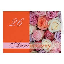 26th wedding anniversary 26 wedding anniversary wishes 26th wedding anniversary greeting