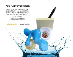 Quirky Desk Accessories by The U0027 Tape Dispenser And Supply Station Funny Accessory