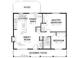 bedroom house plans under 1000 square feet one bedroom cottage
