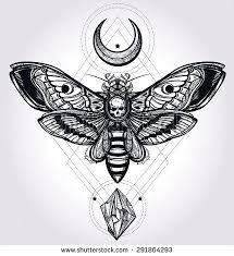 the 25 best death head moth tattoo ideas on pinterest