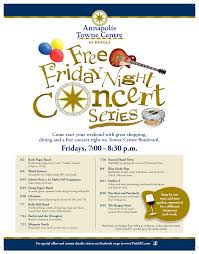 friday night summer concert series visit atc