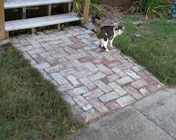 How To Lay Flagstone Patio Dry Setting A Paver Path