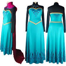 Halloween Costume Elsa Frozen Disney Frozen Elsa Cosplay Dress Prom Dress Disney Movie Film