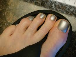 buy our best dark silver grey metal nail polish color for men guys