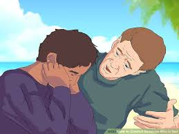 Words Of Comfort For A Depressed Friend How To Comfort Someone Who Is Sad With Pictures Wikihow
