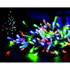 battery operated lights with timer premier decorations 600 multi coloured led battery operated multi