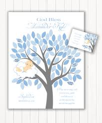 guest book sign in baptism guest book 11x14 sign in tree christening or baby