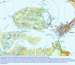 Harbor College Map Geology Of Brownsea Island Guide By Dr Ian West