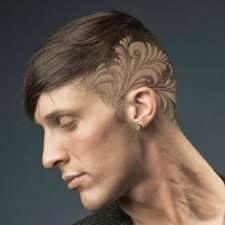 hair designs for men ideas bing images crazy hair hr tattoos