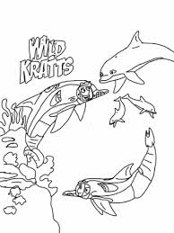 wild kratts coloring pages free coloring pages printables kids