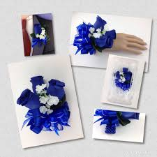 royal blue corsage new artificial royal blue corsage royal s