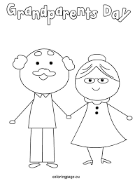 grandparents coloring pages 18575