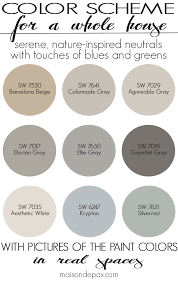 paint color home tour nature inspired neutrals maison de pax