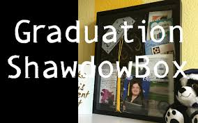 graduation memory box graduation shadow box tutorial