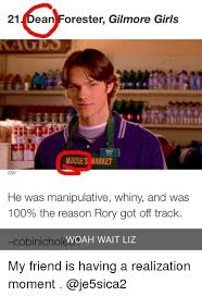 Gilmore Girls Meme - 21 ean forester gilmore girls moose s market cw he was