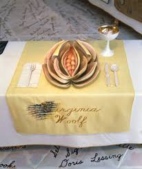 judy chicago dinner table riot women still a potent force says feminist art founder